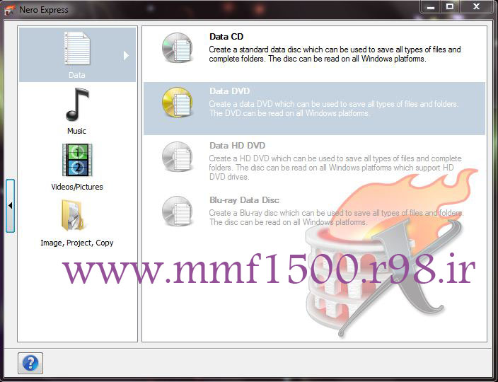 نسخه جدید و رایگان نرم افزار رایت Nero Burning ROM v15.0.07100