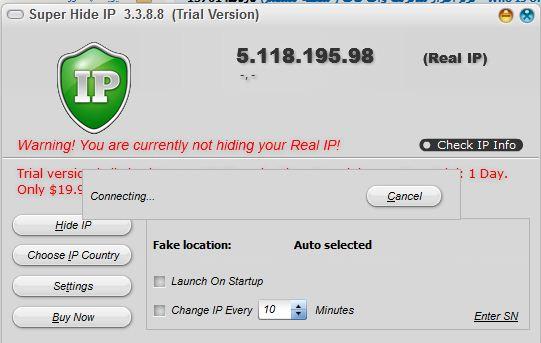 دانلود Super Hide IP 3.3.8.8 - نرم افزار تغییر و مخفی کردن آی پی
