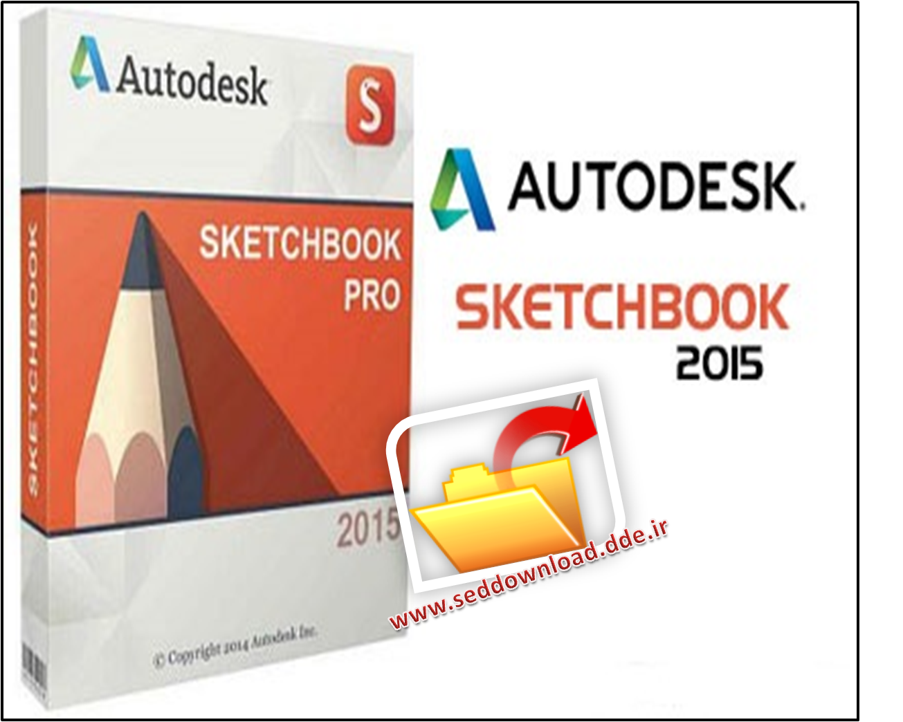 اسکیس حرفه ای با Autodesk SketchBook Pro 2015 SP3 Multilingual – مک