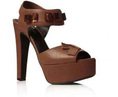 مدل کفش مجلسی تیره