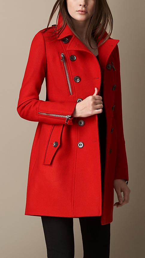 مدل مانتو مجلسی زنانه قرمز شیک