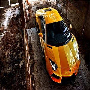 عکس ماشین لامبورگینی