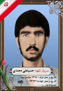 شهیدحسینعلی محمدی