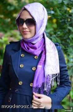 مدل جدید روسری شال 93
