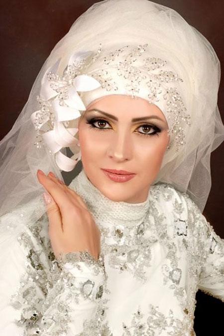 تور عروس محجبه و باحجاب