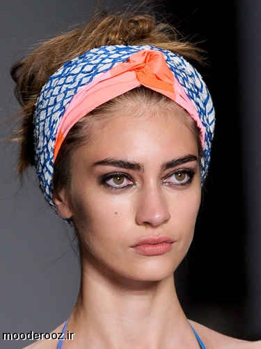 مدل جدید آرایش ابرو دخترانه 2014