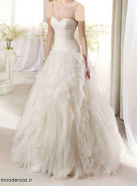 مدل جدید لباس عروس 2014