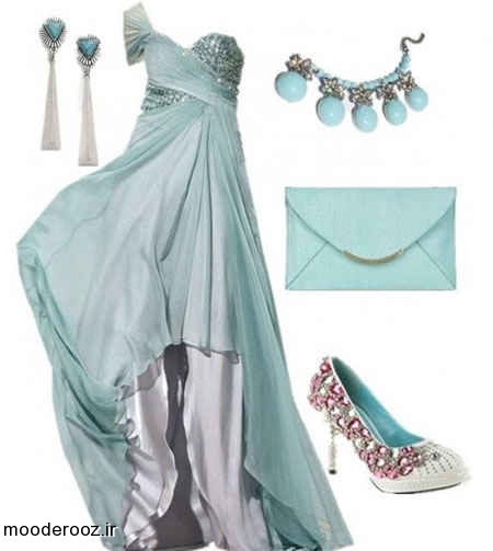 مدل جدید لباس شب و مجلسی 2014