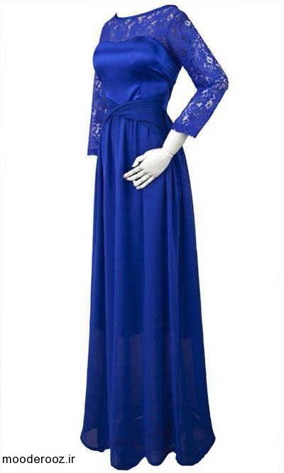 مدل لباس گیپور مجلسی و بلند