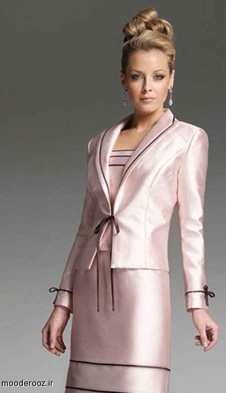 زیباترین مدل کت و دامن مجلسی ۲۰۱۴
