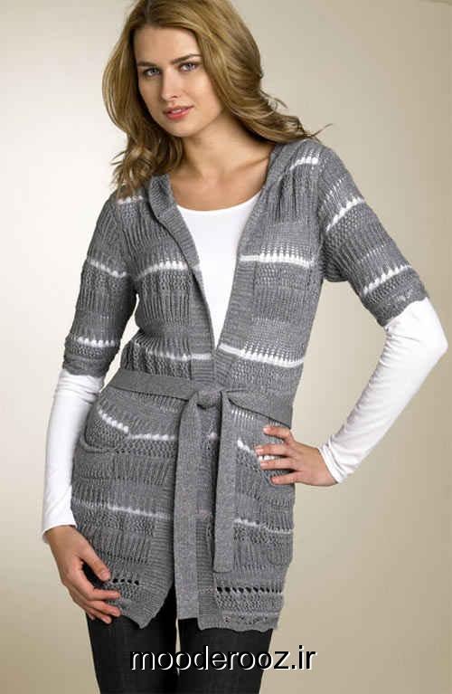 ژورنـال مـدل های متنوع لباس بافتـنی برای خانمها