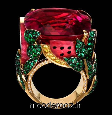 زیباترین مدل انگشترهای جواهر 2014