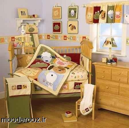 جدیدترین دکوراسیون اتاق نوزاد