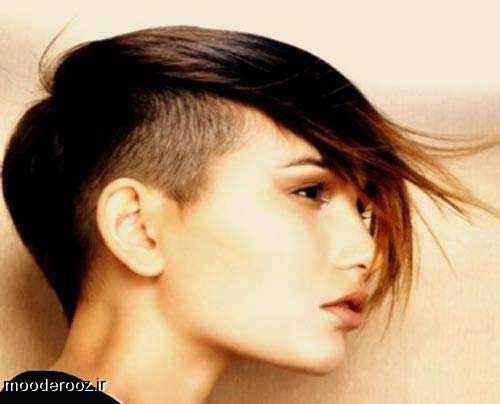 مدل مو کوتاه فشن دخترانه2014