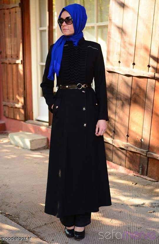 مدل مانتو زمستانی زنانه