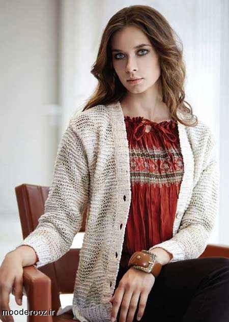 مدل لباس بافتنی اسپرت