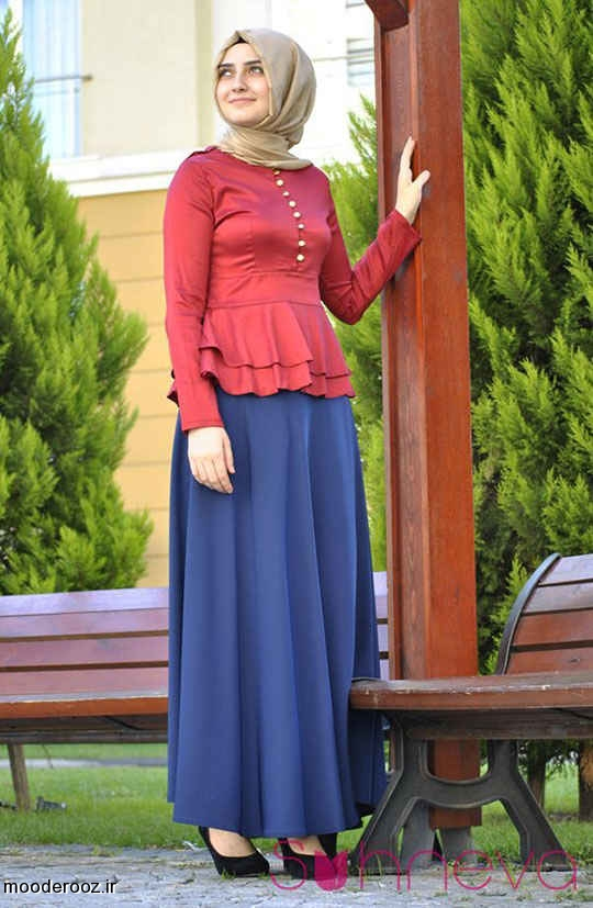 مدل لباس مجلسی پوشیده