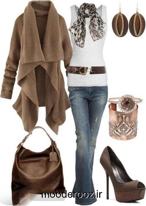 زیباترین ست های زمستانه خانم ها