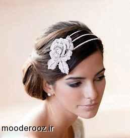 مدل موي كوتاه عروس 2014