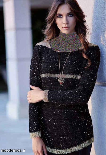 جدیترین مدل لباس بافتنی 2014