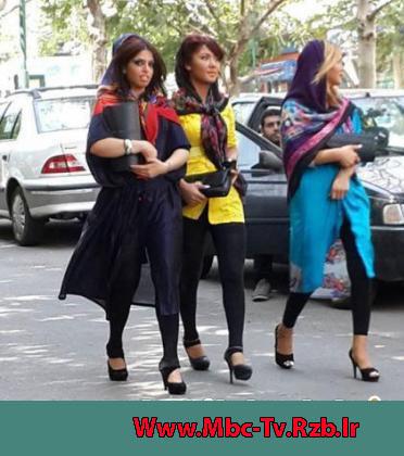 افزایش دختران ساپورت پوش در تهران