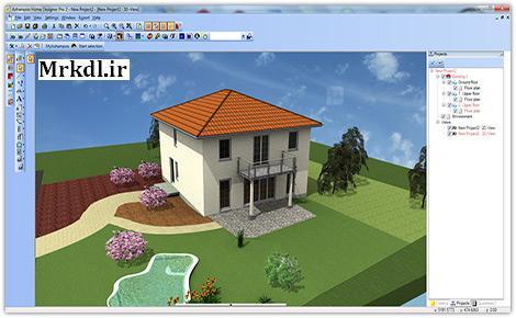 دانلود نرم افزار طراحی خانه Ashampoo Home Designer Pro 2 v2.0.0