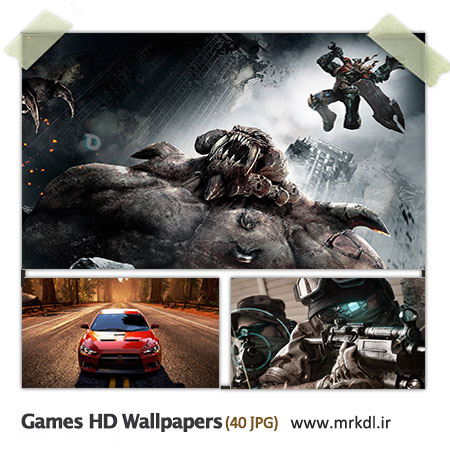 Game HD Wallpaper مجموعه 40 والپیپر زیبا با موضوع گیم Games HD Wallpapers