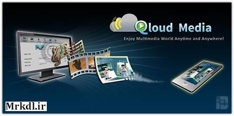دانلود نرم افزار Qloud Media v3.8.1 برای اندروید