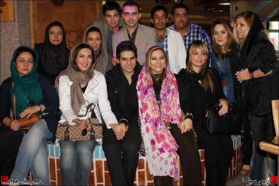 گپ استقلالی ها در تلگرام gooya news :: didaniha : بازیگران در یک جشن تولد (گزارش تصویری)