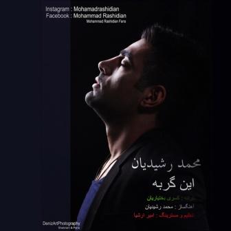 دانلود آهنگ جدید و بی نظیر محمد رشیدیان به نام این گربه
