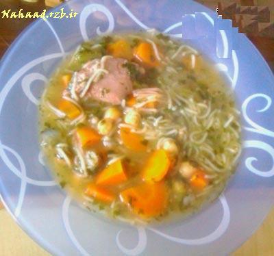 آموزش تهیه سوپ ماهیچه ( سوپ سرماخوردگی )