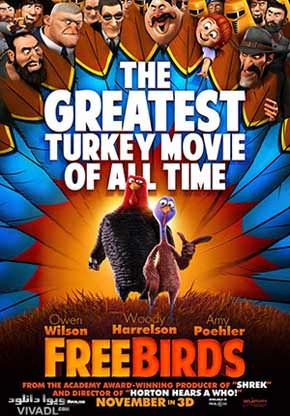 دانلود فیلم انیمیشن پرنده های آزاد Free Birds 2014