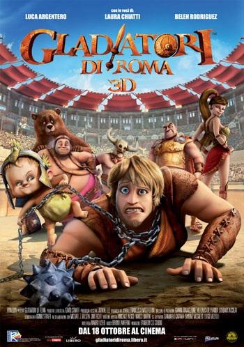 دانلود دوبله فارسی انیمیشن گلادیاتورهای دست و پا چلفتی Gladiators of Rome 2012