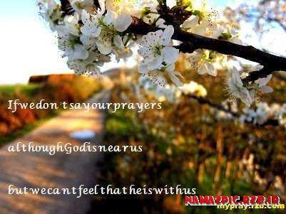 نماز-متن انگلیسی در مورد نماز-پوستر در مورد نماز