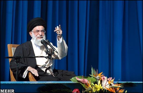 این سخنرانی امام خامنه ای را از دست ندهید!!!!!!خیلی مهم است!!!!!!