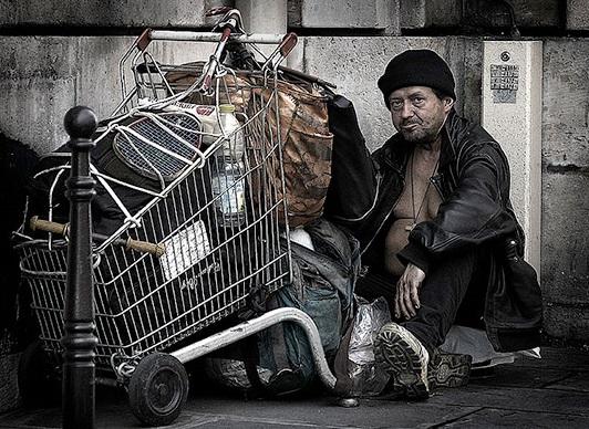 فقیر و غنی در آمریکا