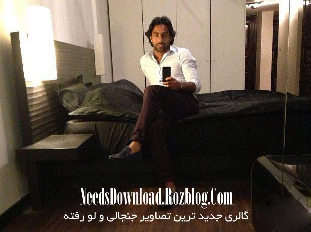 تصویر لو رفته از فرهاد مجیدی در اتاق خواب شخصی اش - needsdownload.rozblog.com