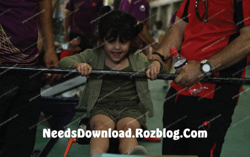 دختر علی دایی در حال وزنه برداری - needsdownload.rozblgo.com