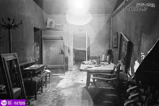 اتاقی که هیتلر و همسرش در آن خودکشی کرد !+ عکس