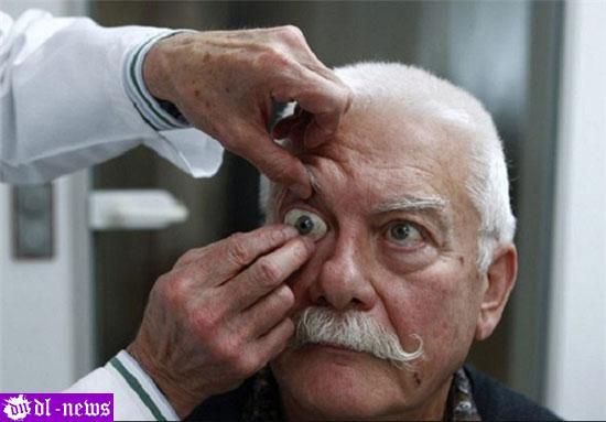 چشم های دست ساز برای نابینایان +عکس