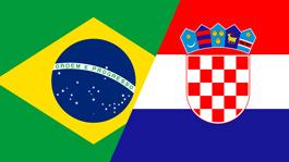 برزیل ۳ - ۱ کرواسی گل ها