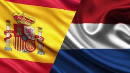 هلند ۵ - ۱ اسپانیا گل ها
