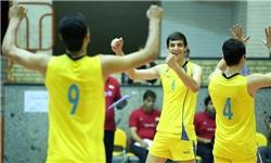 برگزاری مسابقات والیبال شهرداری نیشابور بدون تماشاگر