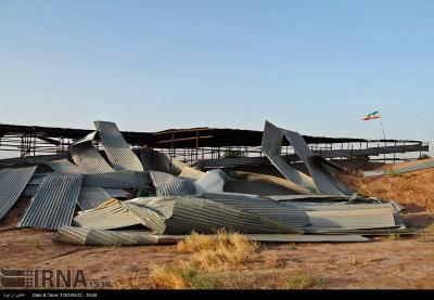 گزارش : سایت – موزه تپه های تاریخی شادیاخ و کهن دژ بعد از طوفان/ حفاری غیر مجاز