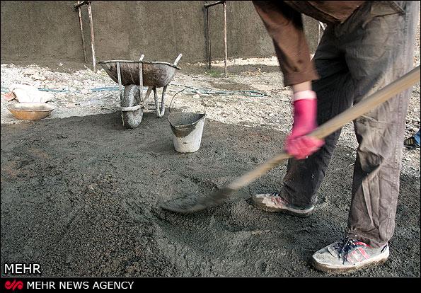 ۲۰۰۰ کارگر ساختمانی نیشابور در انتظار برخورداری از بیمه