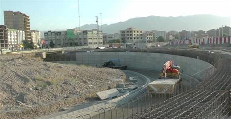 تحویل زیرگذر تقاطع امام رضا(ع) نیشابور تا ۲۰۰ روز دیگر