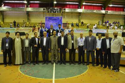 پایان چهارمین المپیاد ورزشی کشوری کارکنان و استادان سازمان سما در نیشابور