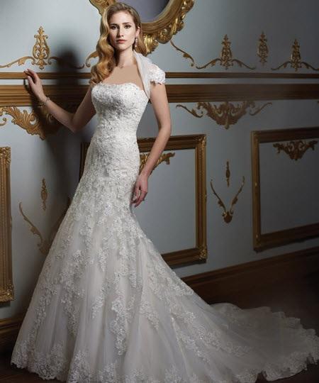 مدل های شیک لباس عروس 2015
