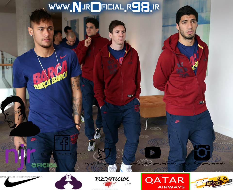 پست باشگاه بارسلونا در اینستاگرام : نیمار در بازیه روز گذشته مقابل گرانادا