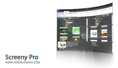 ضبط فعالیت های صفحه نمایش Screeny Pro